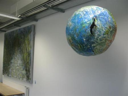 Mixed Media Globe