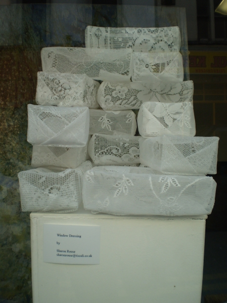 Lace Bricks by Sharon Rouse
